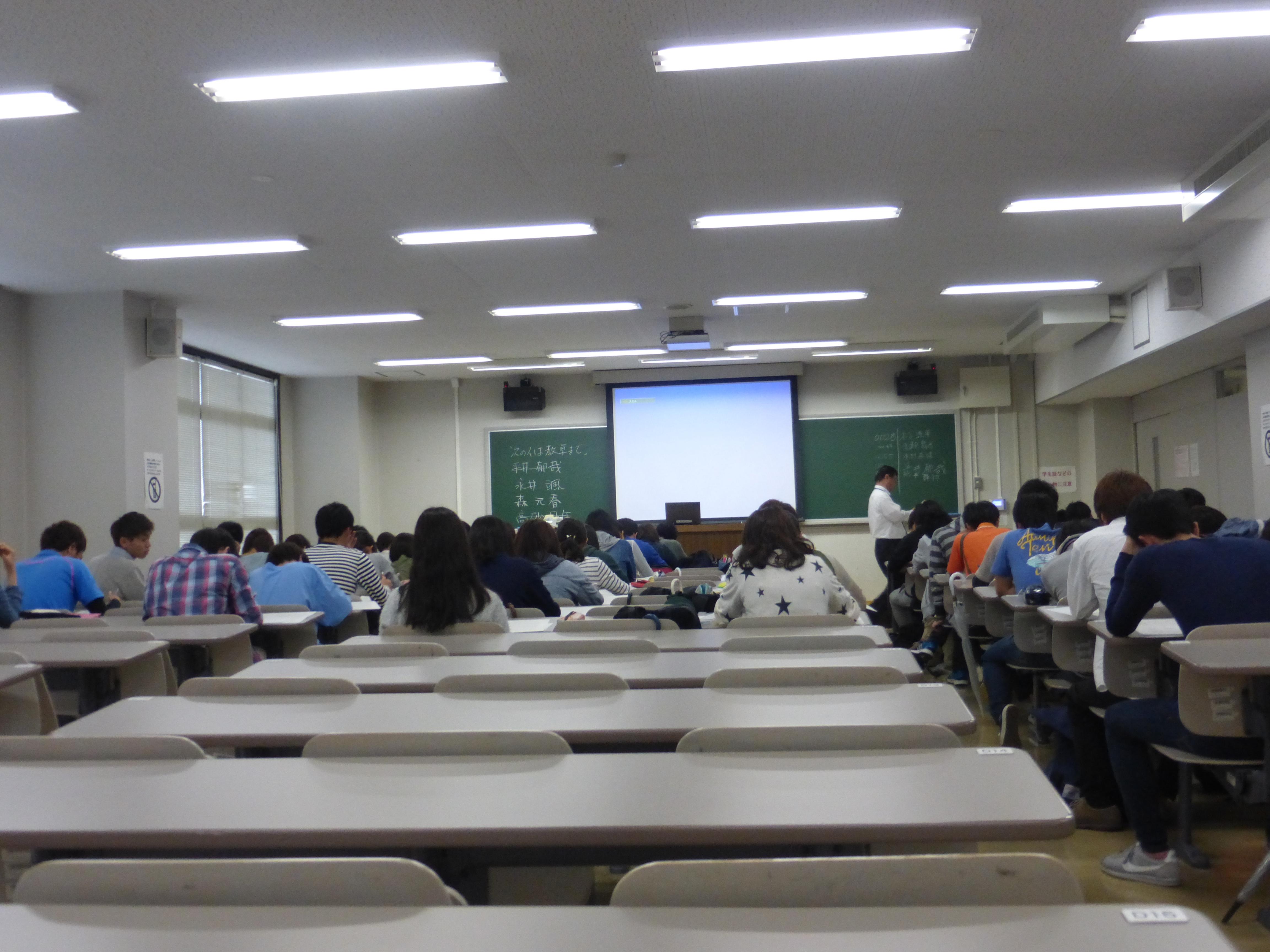 近畿大学経営学部に今年1回目の出講|新着情報|三元ラセン管工業株式会社